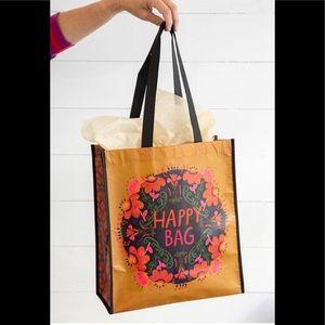 Recycled Reusable Happy Bag Gift Bag